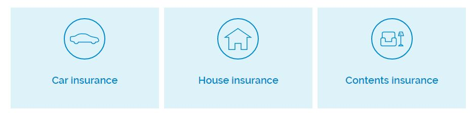House Contents Car Insurance Banner