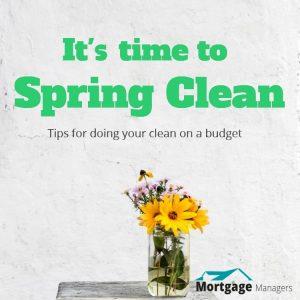 a good spring clean